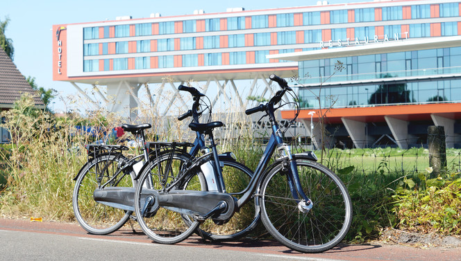 Start cycling from Hotel Veenendaal
